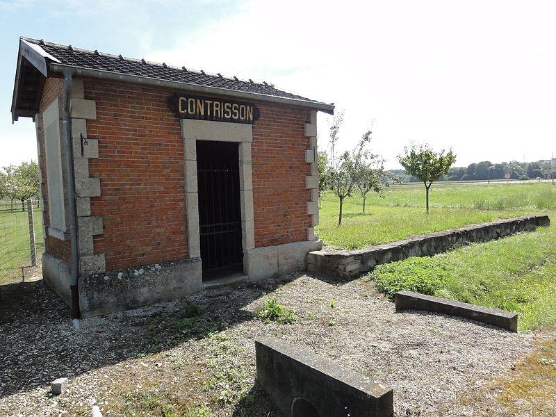 Contrisson (Meuse) halte de Contrisson