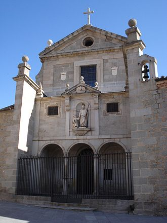 Convento de San José (Ávila) - The church of the Convent of Saint Joseph, in Ávila, Spain.