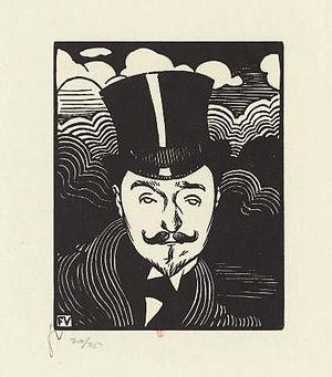 Romain Coolus - Romain Coolus by Félix Vallotton (1894)