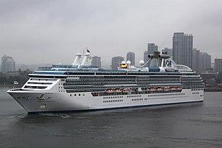 <i>Coral Princess</i> Cruise ship