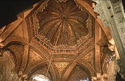 Interior de la Mezquita de Córdoba en Córdoba, España.