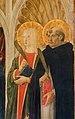 Cosimo rosselli, annunciazione tra i ss. giovanni battista, antonio, caterina e pietro, 1473, 06.jpg