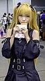 Cosplayer of Golden Darkness eating Taiyaki 20200705b.jpg
