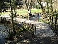 Cotehele Mill Footbridge - geograph.org.uk - 1211153.jpg