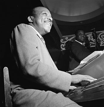 Portrait of Count Basie, Aquarium, New York, N.Y.
