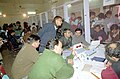 Counting of votes through Electronic Voting Mechine (EVM) for Assembly Elections of Delhi is in Process in New Delhi on December 4, 2003 (Thursday) (1).jpg