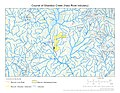 Course of Shaddox Creek (Haw River tributary).jpg