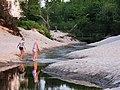 Creek at Hornbæk - panoramio.jpg