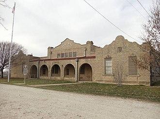 Cresson, Texas - Image: Cresson School 1