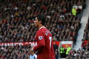 Manchester United footballer Cristiano ronaldo