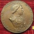 Cristoforo di geremia, medaglia di alfonso I, re di napoli.JPG
