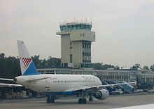 Croatia airlines zg tower.JPG