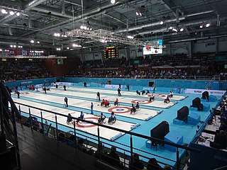 Wheelchair curling at the 2014 Winter Paralympics