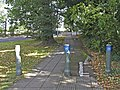 Cycle Track, Bramley Road, London N14 - geograph.org.uk - 991750.jpg