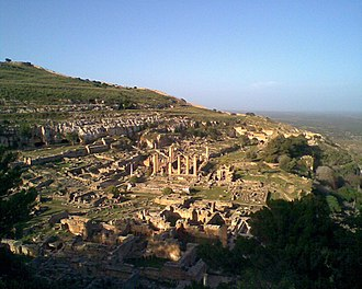 Hegesias of Cyrene - Ruins of Cyrene, in the northwest of modern Libya, where Hegesias lived.