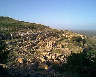 Cyrene, Libya - The ruins of Cyrene