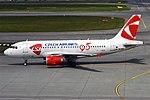 Czech Airlines, OK-MEK, Airbus A319-112 (43489492604).jpg