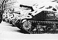 Czołgi Samodzielnej 2 BPanc M4 Sherman przykryte śniegiem - Apeniny 1944 NAC 24-502-8.jpg