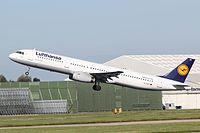 D-AIDT - A321 - Lufthansa