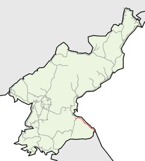 Kumgangsan Chongnyon Line