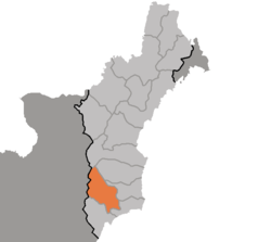 Location of Kilju Country
