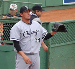 Freddy García - García with the Chicago White Sox in 2005