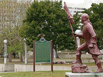 History of Detroit - French officer Antoine de la Mothe Cadillac founded Detroit in 1701