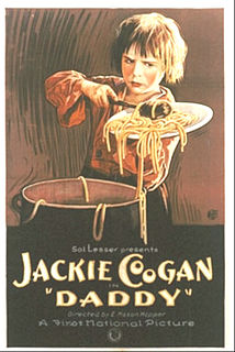 <i>Daddy</i> (1923 film) 1923 film