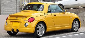 Daihatsu Copen - 1st Generation Rear view