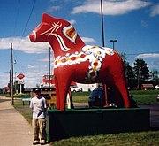 Dala horse-Grand Rapids, Minnesota-20070706