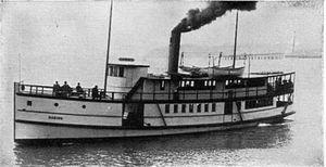 Daring (steamboat 1909) - Image: Daring (steamboat 1909)
