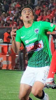 Dárvin Chávez Mexican footballer