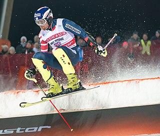 Dave Ryding British alpine skier