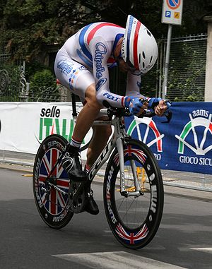 David Millar during the last stage of 2008 Gir...