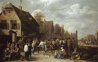 David Teniers the Younger - Village festival