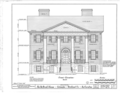 DeBruhl-Marshall House, 1401 Laurel Street, Columbia, Richland County, SC HABS SC,40-COLUM,1- (sheet 5 of 13).png
