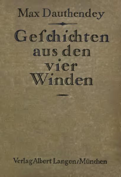 File:De Geschichten aus den vier Winden Dauthendey.djvu