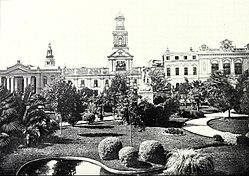 La Plaza de Armas en 1906.