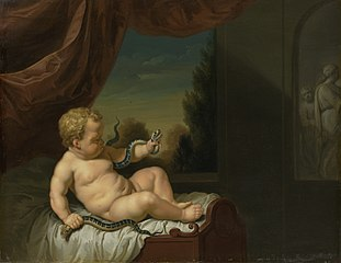 The Infant Hercules with a Serpent