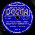 Decca 5035 A - I'mTyingTheLeavesSoTheyWon'tComeDown.jpg