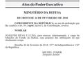 Decreto de Nomeação do Ministro da Defesa do Brasil em 2018.png