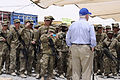 Defense.gov News Photo 110605-D-XH843-007 - Secretary of Defense Robert M. Gates addresses the troops at a Forward Operating Base in Afghanistan on June 5, 2011.jpg