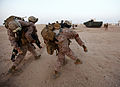 Defense.gov News Photo 120630-M-KU932-152 - U.S. Marines with Alpha Company Battalion Landing Team 1st Battalion 2nd Marine Regiment 24th Marine Expeditionary Unit carry simulated.jpg