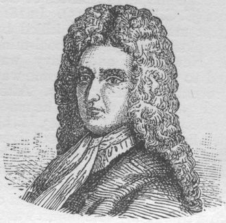 Augustan literature - A woodcut of Daniel Defoe