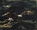 Delacroix - Tam O'Shanter poursuivi par les sorcières, 1849.jpg