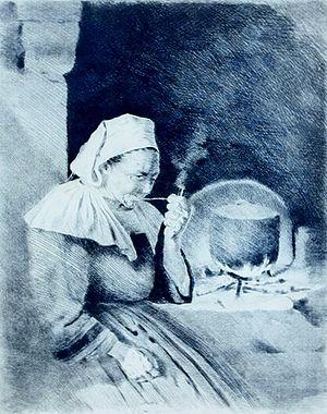 Henri Delavallée - Image: Delavallée Bretonne pipe