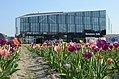 Delft station flowers 2018.jpg