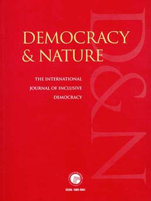Democracy & Nature - Image: Democracy & Nature's front cover
