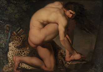 Nicolai Abildgaard - The Wounded Philoctetes (1775)