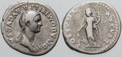 Denarius-Domitilla-RIC 0137